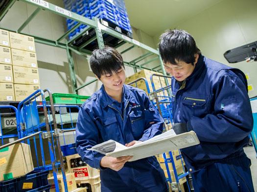 倉庫管理職